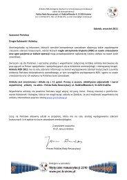 Ankieta - Polska Rada Resuscytacji