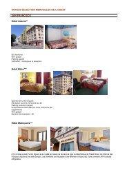 Sélection d'hôtels 2013 - Back Roads