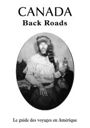Le Guide du Canada 2013 - Back Roads