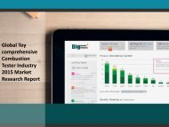 Tester Industry 2015 Market Research Report
