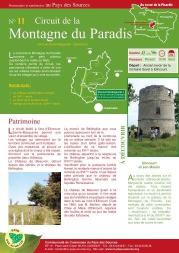 Montagne du Paradis - Communauté de Communes du Pays des ...