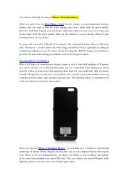 The Features That Help You Buy an iPhone 6 Extended Battery.pdf