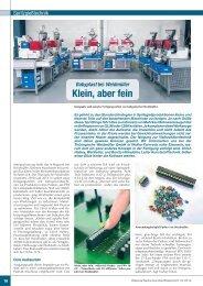 05.03.2012: Klein aber fein - babyplast bei Weidmüller - Provvido