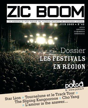 Zic Boom n°43 Juillet / octobre 2009 - Polca