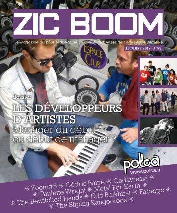 Zic Boom n°53 Octobre / novembre / décembre 2012 ... - Polca