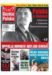 operacją dowodził rosyjski generał - Gazeta Polska Codziennie