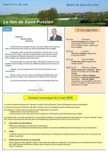 Lien n°12 - mai 2009 - Saint-Fuscien