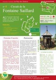 Fontaine Saillard - Communauté de Communes du Pays des Sources