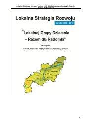 Lokalna Strategia Rozwoju - 2013 r. - Stowarzyszenie Razem dla ...