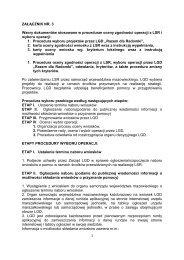 załącznik nr. 3 procedury i karty 2012 - Stowarzyszenie Razem dla ...