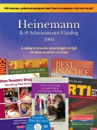 Intervention Fountas & Pinnell Benchmark Assessment ... - Heinemann