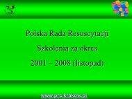 Prezentacja programu PowerPoint - Polska Rada Resuscytacji