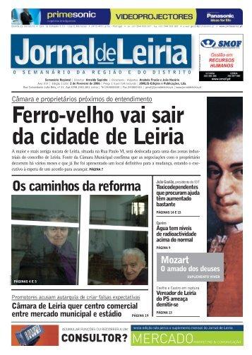 Os caminhos da reforma - Jornal de Leiria