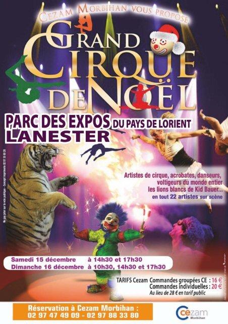 Carte Cezam Bretagne.Grand Cirque De Noa L Cezam Bretagne