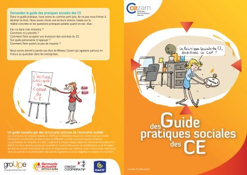 Carte Cezam Bretagne.Un Guide Soutenu Par Des Structures Actrices De L