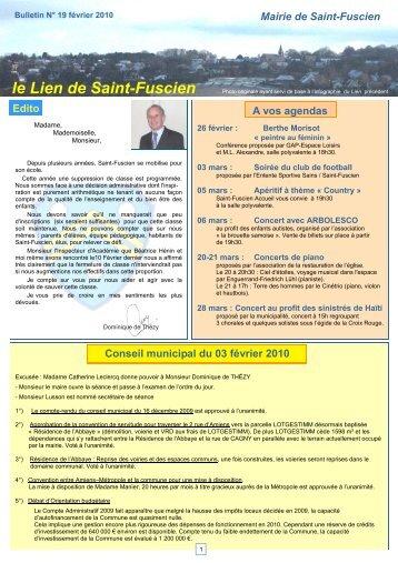 Lien n°19 - février 2010 - Saint-Fuscien
