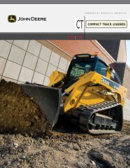 COMPACT TRACK LOADERS - Plasterer Equipment Company