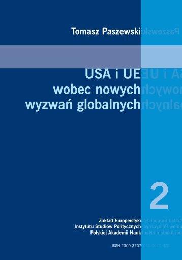 USA i UE wobec nowych wyzwań globalnych - Instytut Studiów ...