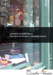la charte des devantures - Ville de Meudon