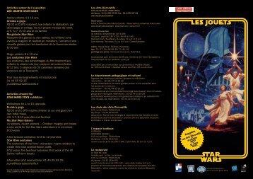 Activités autour de l'exposition LES JOUETS STAR WARS Atelier ...