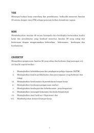 kunci kejayaan amalan 5s - Institut Latihan Perindustrian Kangar