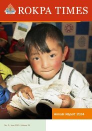 ROKPA Annual Report 2014