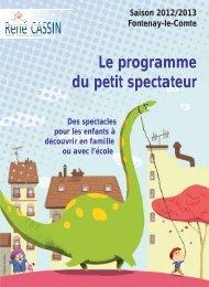 Programme de la Saison culturelle 2012.2013 - Sud Vendée Tourisme