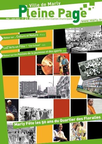 Marly Fête les 50 ans du Quartier des Floralies - Mairie de Marly