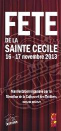 Ste Cecile 2013.cdr - Tourism System