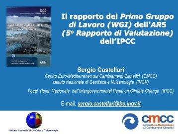 la presentazione di Sergio Castellari - CMCC