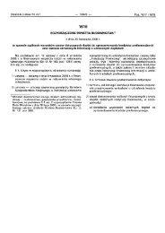 Rozporządzenie Ministra Budownictwa z dnia 23 listopada 2006