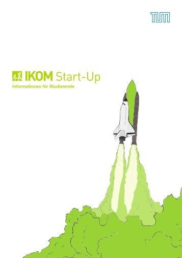 IKOM Start-Up Katalog 2015 - Informationen für Studierende
