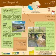 circuit Gallo Romain à Mouzillon - Tourism System