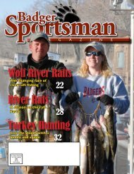 Get this Issue - Badger Sportsman Magazine