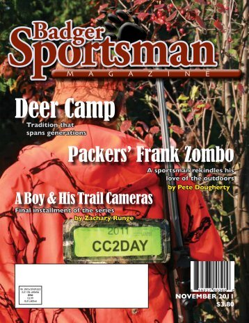 Badger Deer Camp - Badger Sportsman Magazine