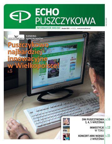 Sierpień 2010 - Puszczykowo, Urząd Miasta
