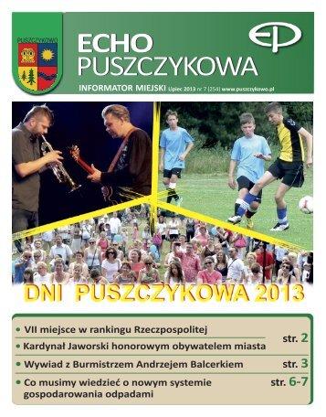 Lipiec - Puszczykowo, Urząd Miasta