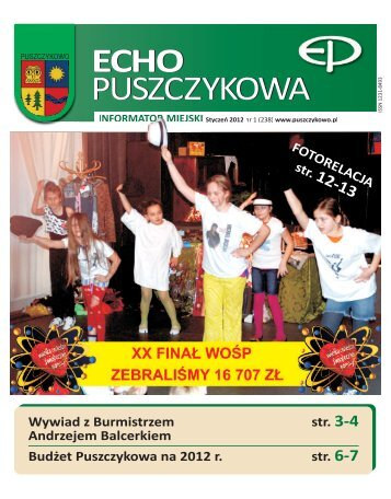 Styczeń 2012 - Puszczykowo, Urząd Miasta