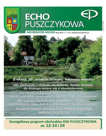 Maj 2012 - Puszczykowo, Urząd Miasta