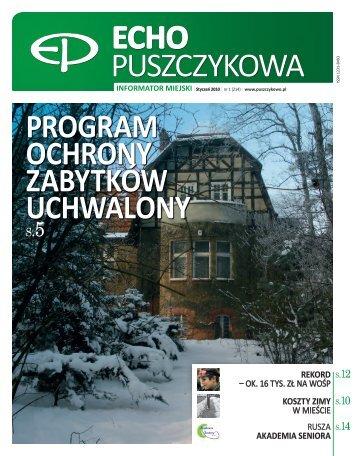 Styczeń 2010 - Puszczykowo, Urząd Miasta