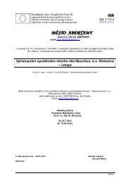 Zpřístupnění opuštěného důlního díla Mauritius, k.ú ... - Abertamy