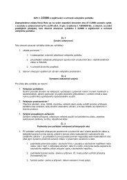 Návrh OZV zajišťování a ochraně veřejného pořádku - Nová Role