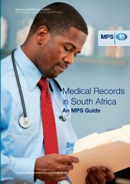 Guide to Medical Records in RZA