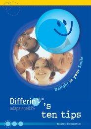 627 Differin ten tips RR - Dermatology