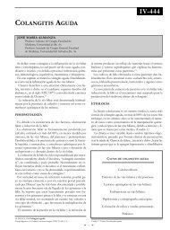 Colangitis aguda. - sacd.org.ar