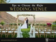 Tips to Choose Wedding Venues in West Chester, PA