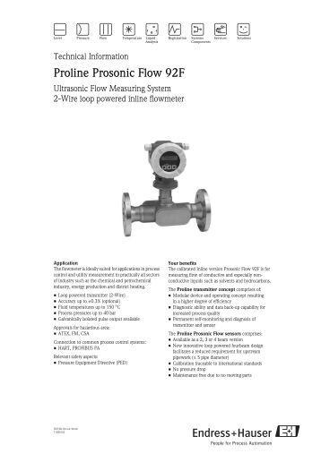 Prosonic fmu 862