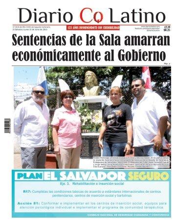 Edición 15 de Junio de 2015