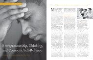 Entrepreneurship, Thinking, and Economic Self ... - Mitchell, Ron K.