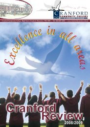 Cranford Review 2008-2009 (Annual edition 2009)
